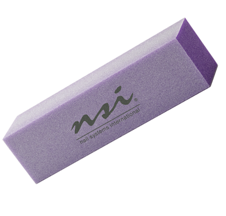 NSI Nails - Lavender Block Buffer | Natural Nail Care | Nail File