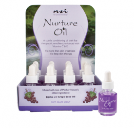 Nurture Oil 12 Pc Display