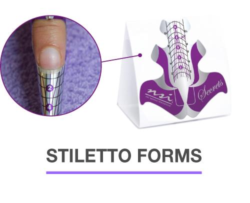 Secrets Stiletto Nail Forms