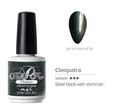 steel black gel color