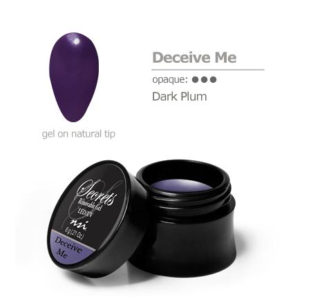 dark plum gel color