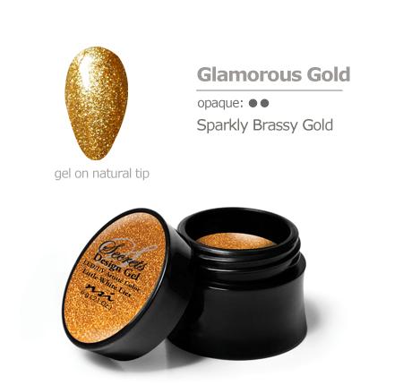 gold gel color