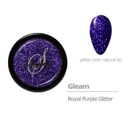 Purple Glitter Color