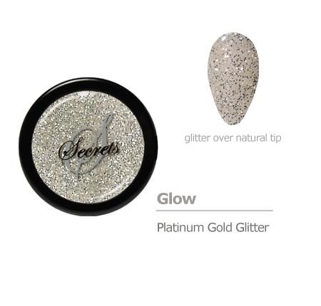 Platinum Gold glitter color