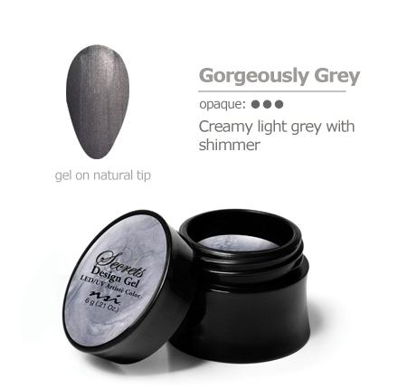 grey gel color
