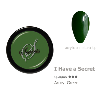Army Green Acrylic color