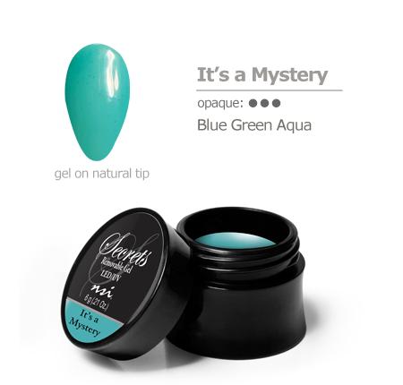 Blue Green Aqua Gel Color