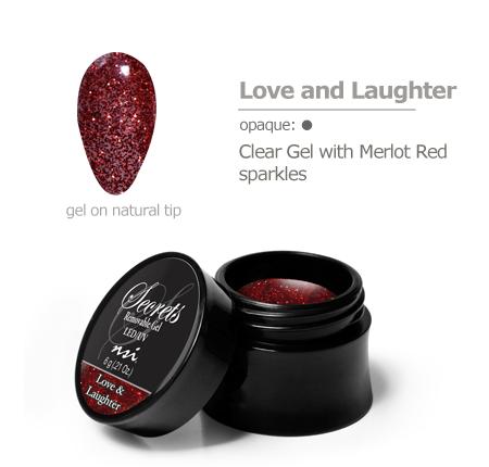 merlot red sparkles gel color