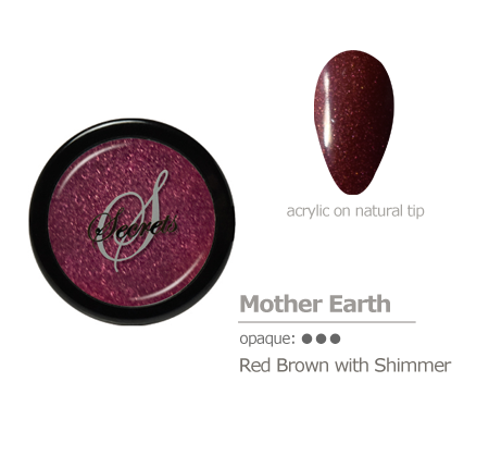 Red Brown with shimmer