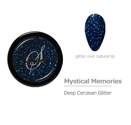 Cerulean Glitter color
