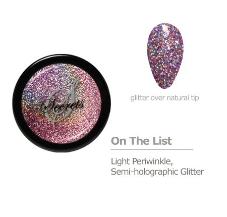 Pink Glitter color