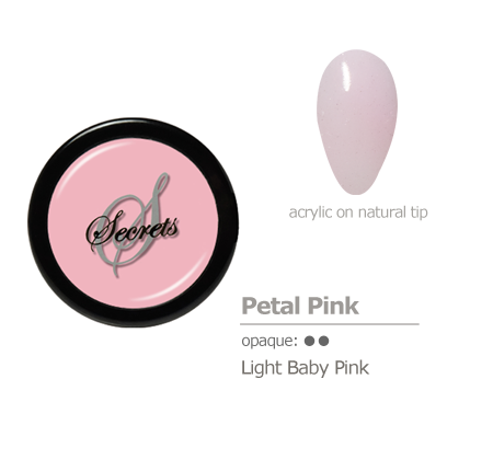 Baby Pink acrylic color