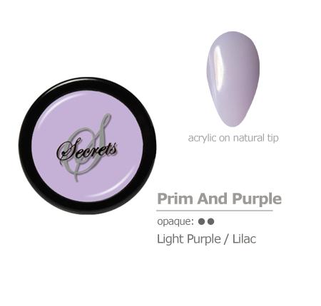 Light purple Acrylic Color