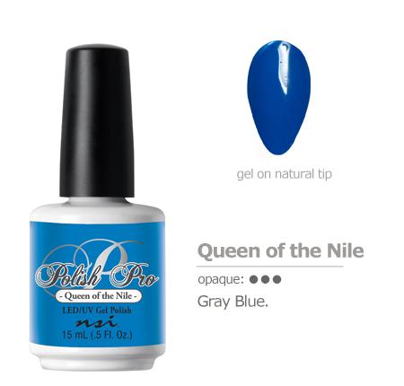 Gray blue gel color