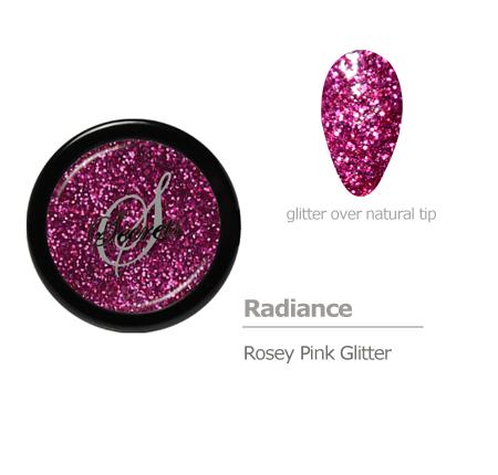 Rose Pink Glitter