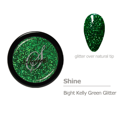 Green Glitter color