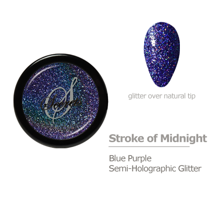 Blue Purple Glitter Color