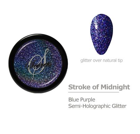 Blue Purple Glitter Color