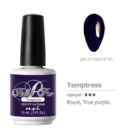 royal purple gel color