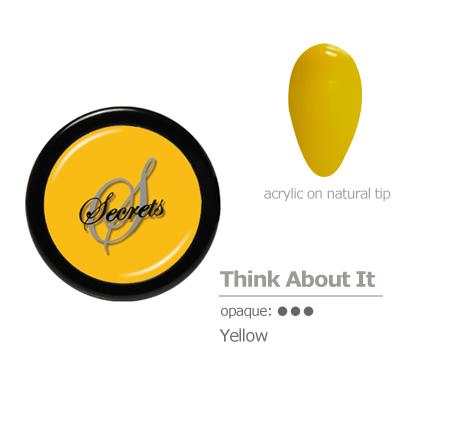 Yellow Acrylic Color
