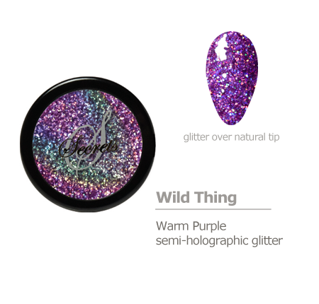 Warm Purple Holographic Glitter