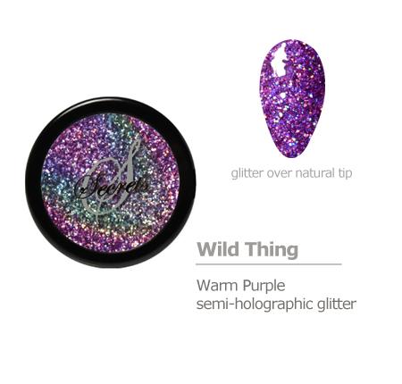 Warm Purple Holographic Glitter