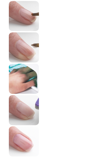Natural Nail Overlay with Balance Gel System | See more Balance,