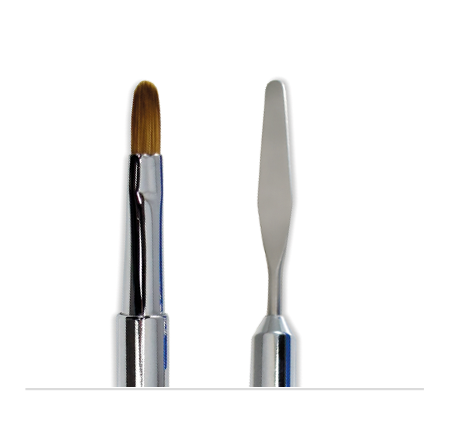 Dual-Ended Nail Brush and Picker